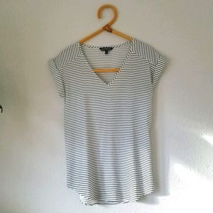 Express striped blouse top